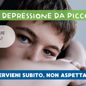 Si può essere depressi a 8 anni?