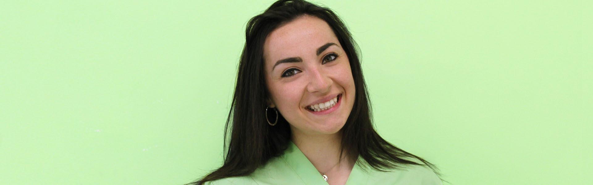Claudia Bufalini, Logopedista
