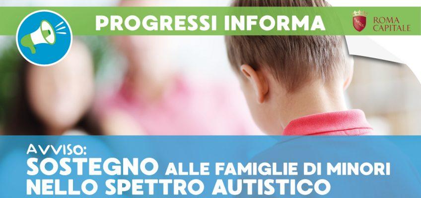 Sostegno alle famiglie di minori nello spettro autistico