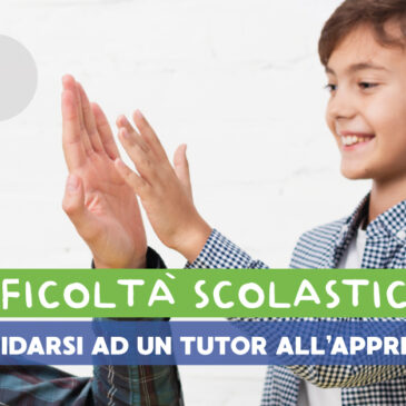 Perché affidarsi ad un Tutor all'apprendimento?