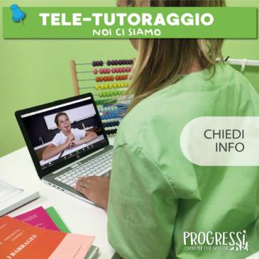 TELE-TUTORAGGIO: il nuovo servizio offerto da Progressi